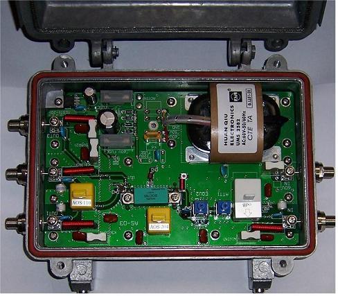 Antenas parabolicas receptores de satelites moduladores for Amplificador tv cable coaxial