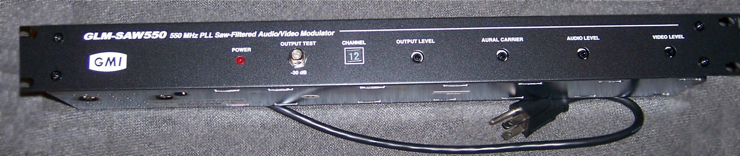 Modulador de audio y video modulador agil de audio fm for Amplificador tv cable coaxial
